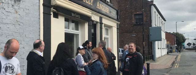 The Jolly Angler is one of Required Guide Pubs.