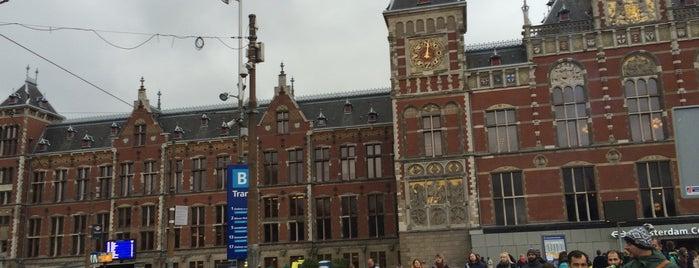 アムステルダム中央駅 is one of Amsterdam 2015.