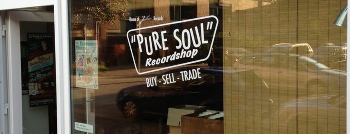 Pure Soul Record Store is one of Hamburg 2019.