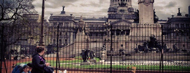 Plaza del Congreso is one of Coolplaces Bsas.