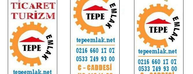 Tepe Emlak & Danışmanlık is one of Lieux qui ont plu à Mevlüt🎬〽⌚🌇🚘💯✔.