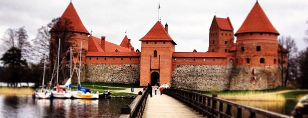 Trakai Castle is one of Lithuania_from_Kyiv.