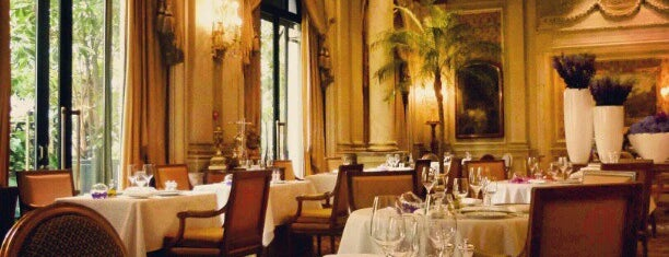 Le Cinq is one of Paris - best spots! - Peter's Fav's.