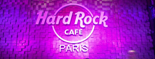 Hard Rock Cafe is one of Paris gourmand, Paris gourmet.