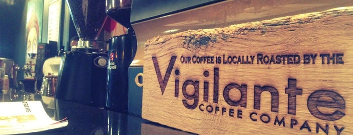 Vigilante Coffee is one of Lieux qui ont plu à Leandro.