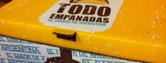 Todo Empanadas is one of restaurantes.