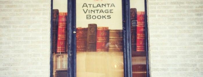 Atlanta Vintage Books is one of Tempat yang Disukai Ben.
