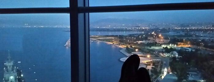 Wyndham Grand İzmir is one of Lugares favoritos de 🅱🅰🅱.