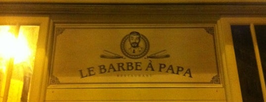 Le Barbe à Papa is one of Les resto bons et cool.