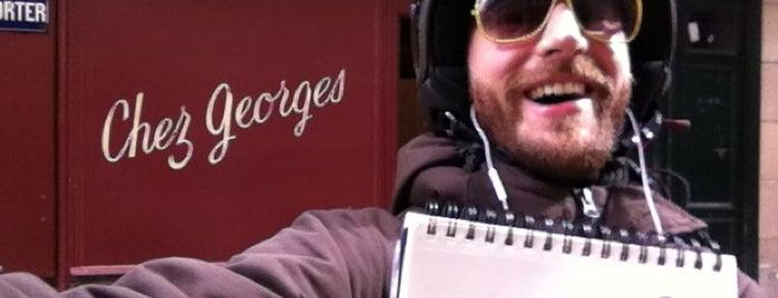 Chez Georges is one of Paris // Nightlife.