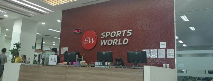 Sports World is one of Robertoさんのお気に入りスポット.