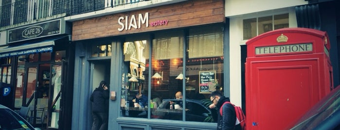 Siam Eatery is one of Best Asian Food In London.