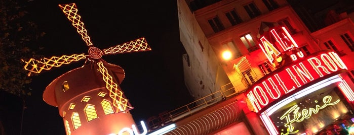 Moulin Rouge is one of Paris.