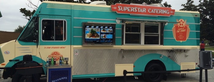 Superstar Catering Food Truck is one of Disney Springs.