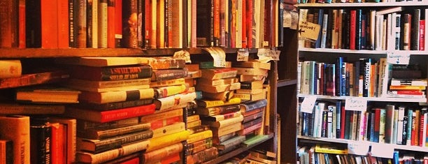 Capitol Hill Books is one of DC Bucket List 2.