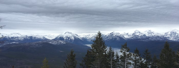 Apgar Peak Lookout, MT is one of Lugares favoritos de Joe.