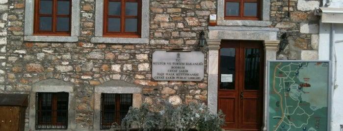 Cevat Şakir Halk Kütuphanesi is one of Bodrum Rehberi.