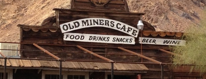 Old Miners Cafe is one of Anthonyさんの保存済みスポット.