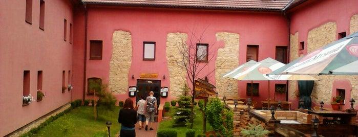 Hotel Stary Pivovar is one of สถานที่ที่ Taygun ถูกใจ.