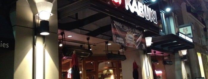Kabuki Japanese Restaurant is one of Tempat yang Disukai Alberto J S.