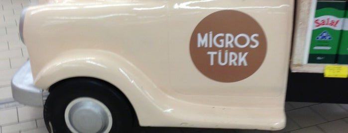 Migros is one of Lieux qui ont plu à Dilek.