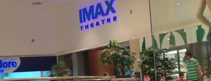 IMAX is one of Curitiba.