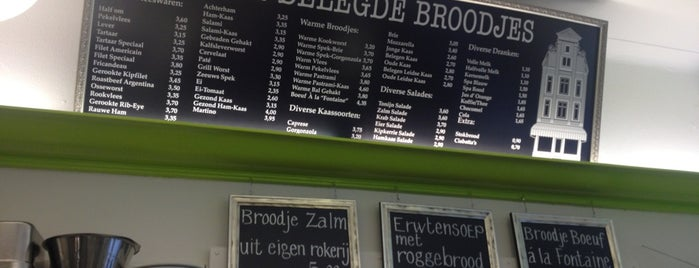't Kuyltje Belegde Broodjes is one of amsterdam.