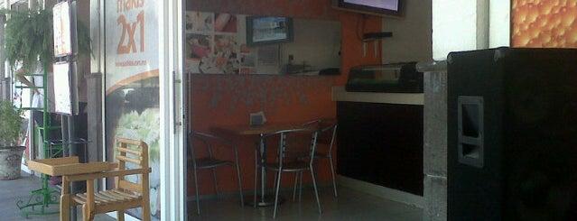 Sushi tai is one of Tempat yang Disukai Sofi.
