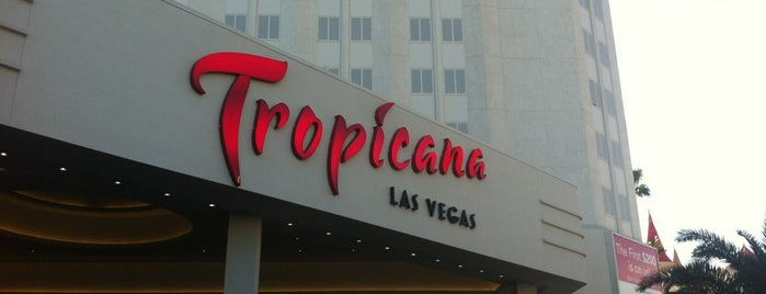 Tropicana Las Vegas is one of CASINOS.