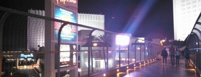 Overpass Between MGM & Tropicana is one of Great Vegas Views.