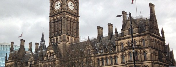 Manchester Town Hall is one of Locais curtidos por Carl.