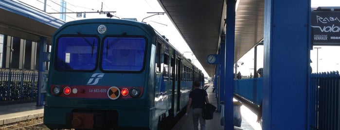 Stazione Pisa Aeroporto is one of Posti salvati di Daniele.