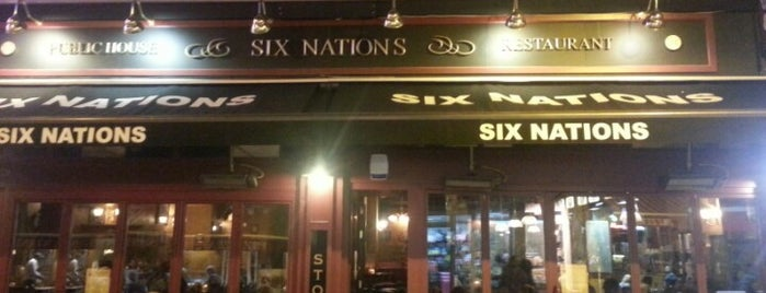 Six Nations Pub & Restaurant is one of Brussels Jazz Marathon (68 spots).