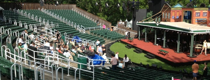 Delacorte Theater is one of NY.