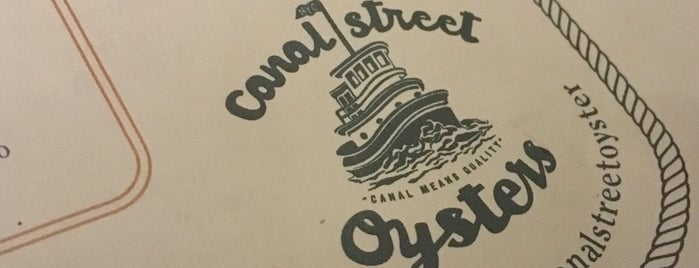 Canal Street Oysters is one of Locais salvos de K.