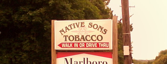 Native Sons Tobacco is one of Locais curtidos por Wailana.