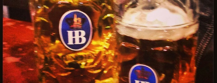 Hofbräu Bierhaus NYC is one of Bottomless Brunches.