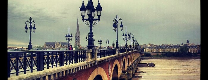 Pont de Pierre is one of Bordeaux.