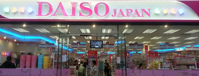 Daiso Japan is one of Amelia 님이 좋아한 장소.