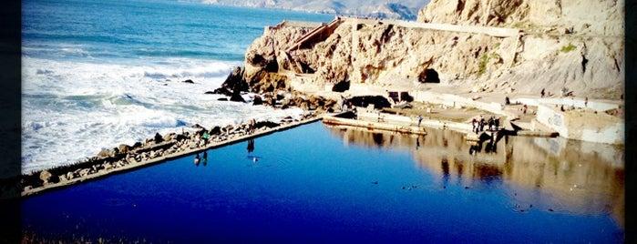 Sutro Baths is one of San Francisco Bay.