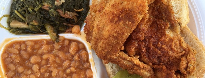 Bolton's Spicy Chicken & Fish is one of Nashville.
