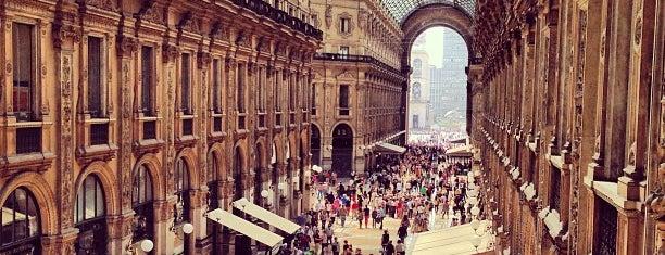 Galleria Vittorio Emanuele II is one of Milão, Itália.