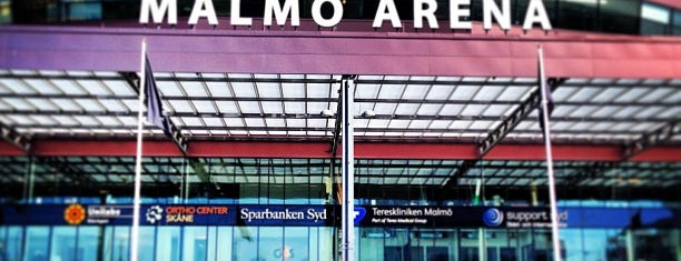 Malmö Arena is one of Lieux qui ont plu à 4sq SUs Sweden.
