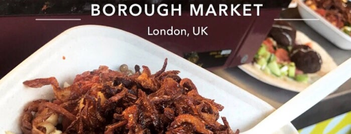 Koshari Street Borough Market is one of London, UK 🇬🇧.