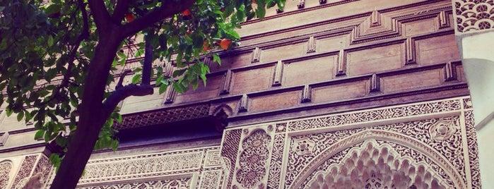 Palais Bahia is one of Morocco.
