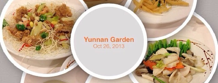 Yunnan Garden 雲南園 is one of Veggie choices in Non-Vegetarian Restaurants.