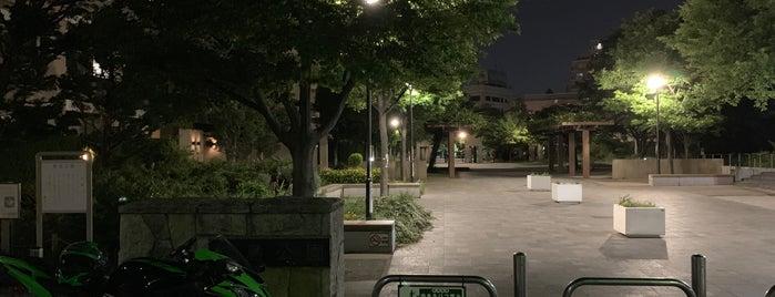梅島公園 is one of 神輿で訪れた場所-1.