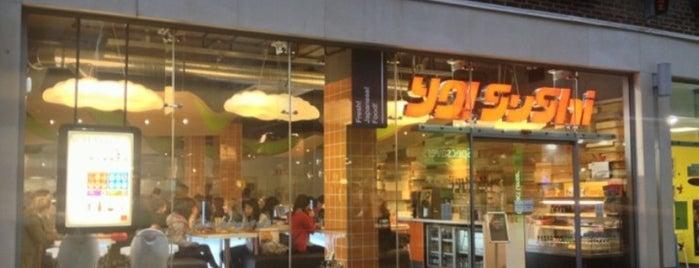 YO! Sushi is one of Del : понравившиеся места.
