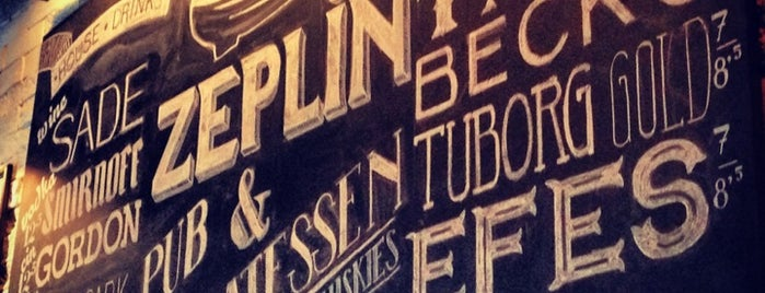 Zeplin Pub & Delicatessen is one of Istanbul's Best Beer - 2013.