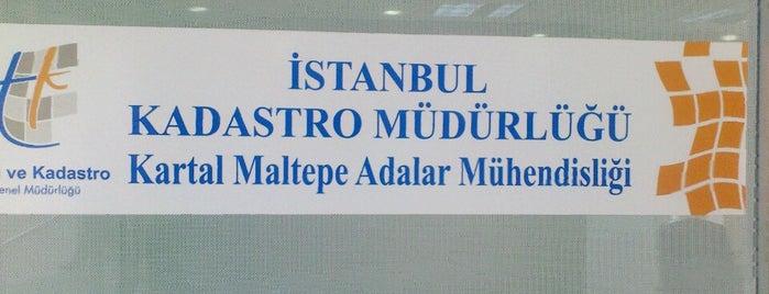 Kartal Tapu Kadastro Müdürlüğü is one of Lieux qui ont plu à Yasemin.